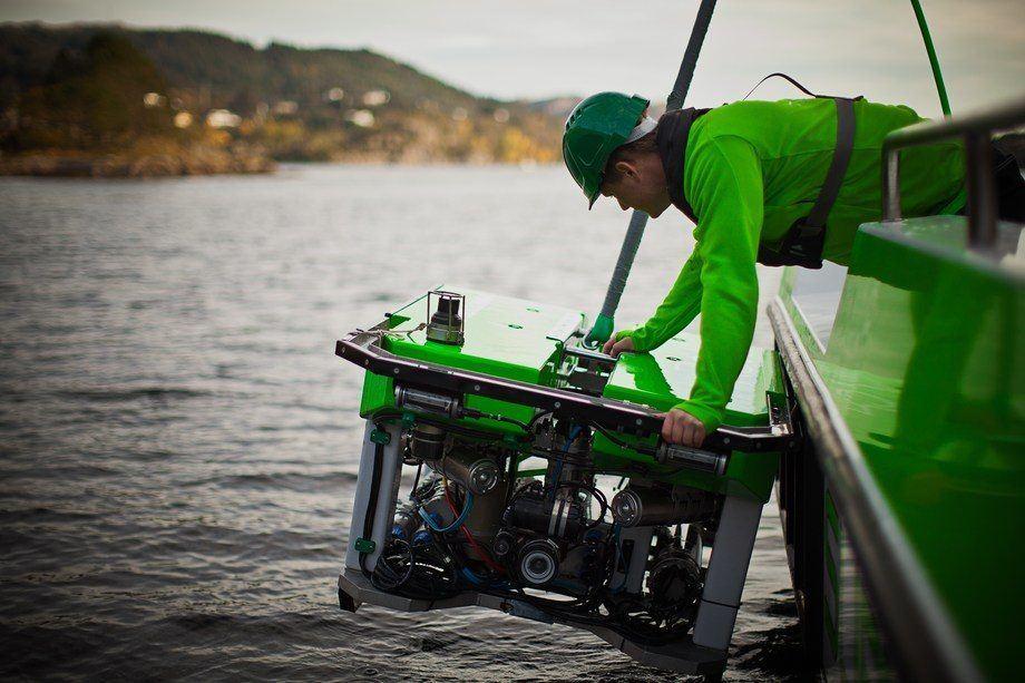 Inspeksjonsselskapet ROVas i Bergen øker stadig staben og gjør et godt resultat i 2017. Foto: ROVas.