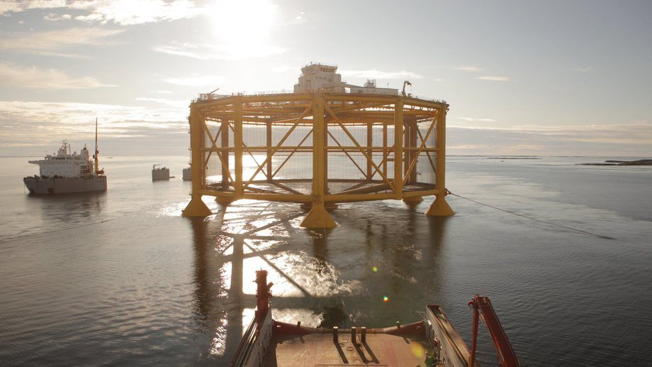 Data from Ocean Farm 1 will be used by scientists from NTNU. Photo: Solstad Farstad