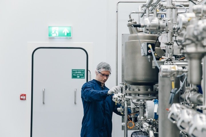 Benchmark recently invested £16 million in a new vaccine development facility in Braintree. Image: Benchmark.