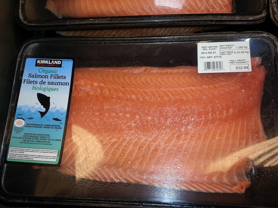 Ireland is the main producer of organic farmed salmon in the EU.