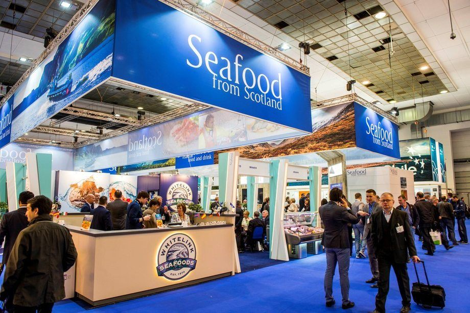 Scottish Seafood's EU award of almost £1m to enable the organisation to take part in global exhibitions was announced in Brussels last month.