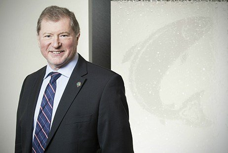 Craig Anderson, CEO of the Scottish Salmon Company: 'We remain firmly focused on our long term growth strategy.'