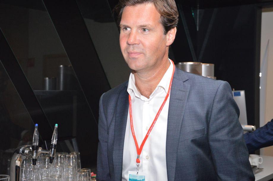 Konsernsjef Henning Beltestad i Lerøy Seafood Group. Foto: Therese Soltveit/Kyst.no.