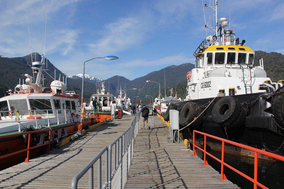 Imagen referencial de barcos. Foto: Archivo Salmonexpert.