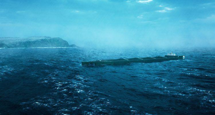 Havfarm está diseñado para ofrecer protección al salmón en sitios de alta energía. Imagen: Nordlaks