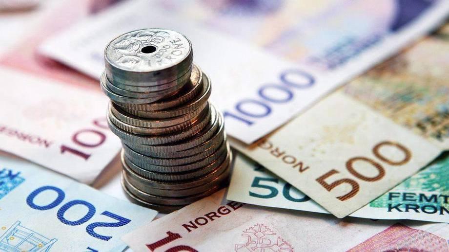 Imagen refrencial de coronas noruegas. Foto: Pixabay.