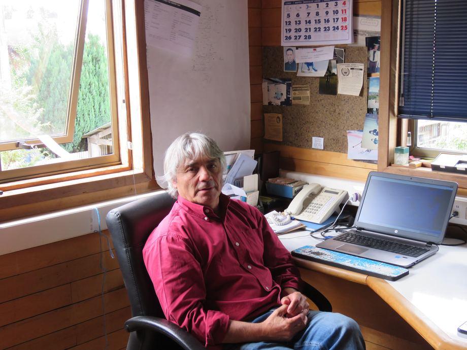 Alejandro Clément, gerente general de Plancton Andino. Foto: Francisco Soto, Salmonexpert.
