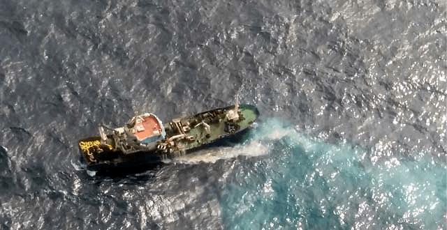 Al 6 de febrero, las FAN han causado una mortalidad de 917 toneladas de salmónidos. Foto: Sernapesca.