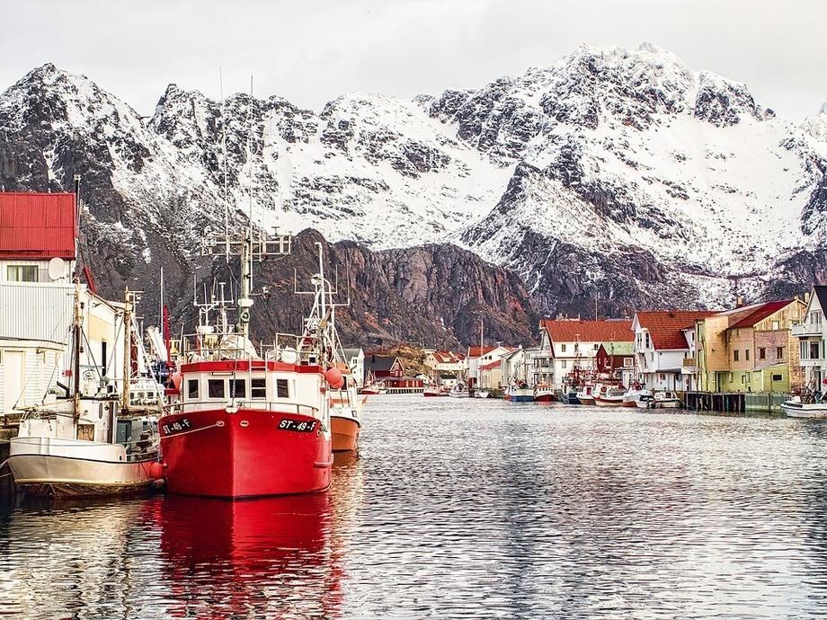 Henningsvaer, Lofoten, Noruega. Foto: Pixabay.