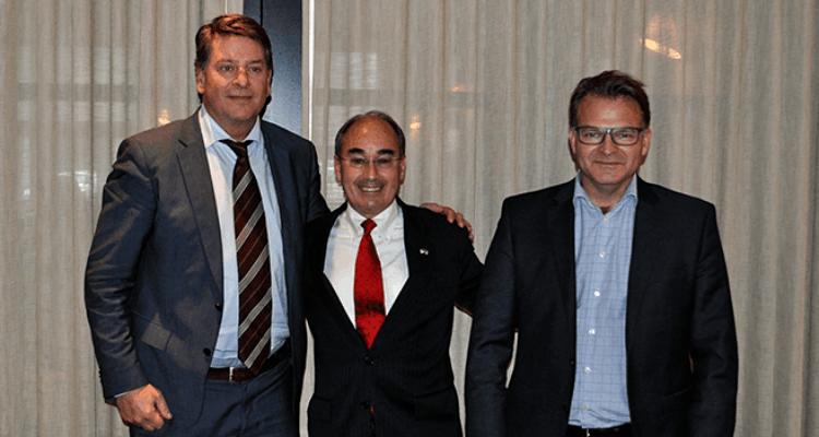 De izquierda a derecha: Lars-Henrik Røren, Bruce Poliquin y Erik Heim. Foto: NAF
