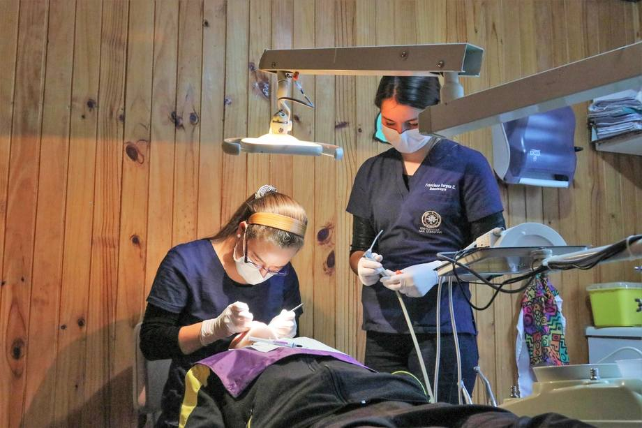 Atención dental. Foto: Salmonchile.