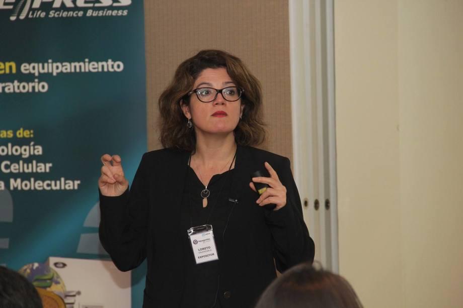 Dra. Loreto Valenzuela, creadora de FishExtend.