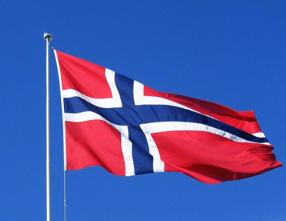 Imagen de bandera noruega. Fuente: Pixabay.