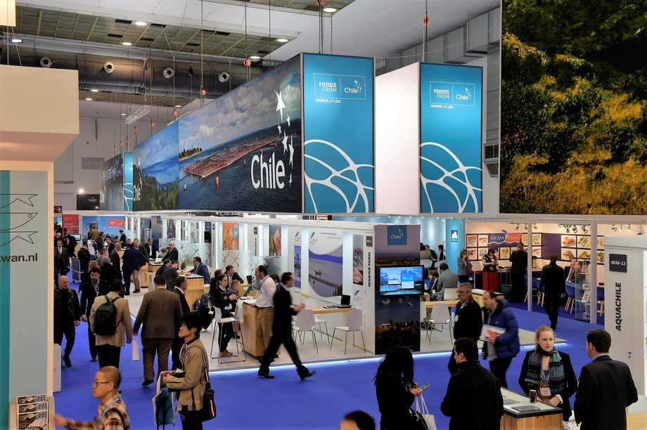 Seafood Expo Global 2017. Foto: Prochile.