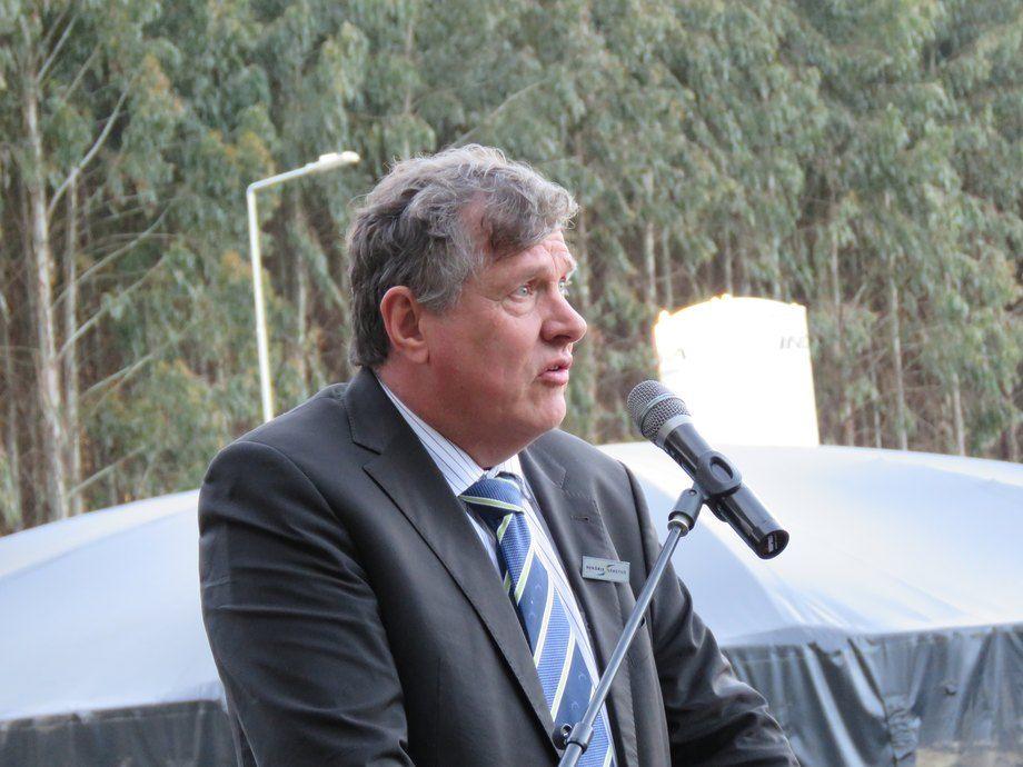 Antoon van den Berg, CEO de Hendrix Genetics. Foto: Erich Guerrero.