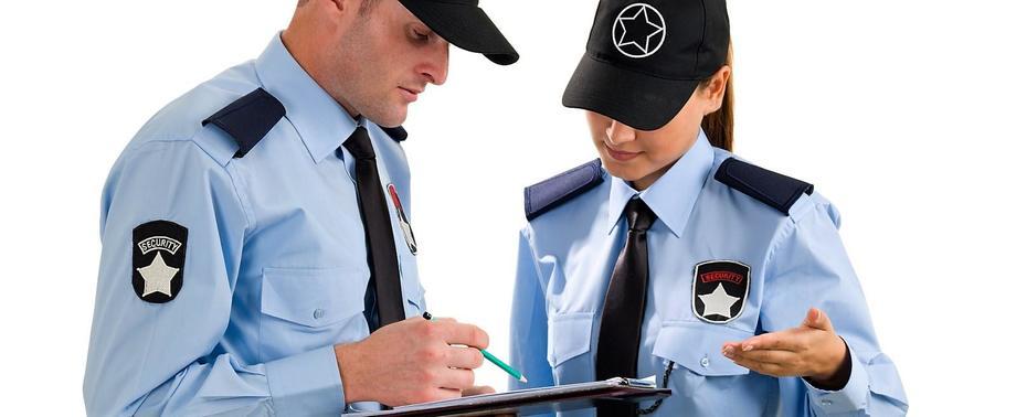 Imagen referencial guardia de seguridad.