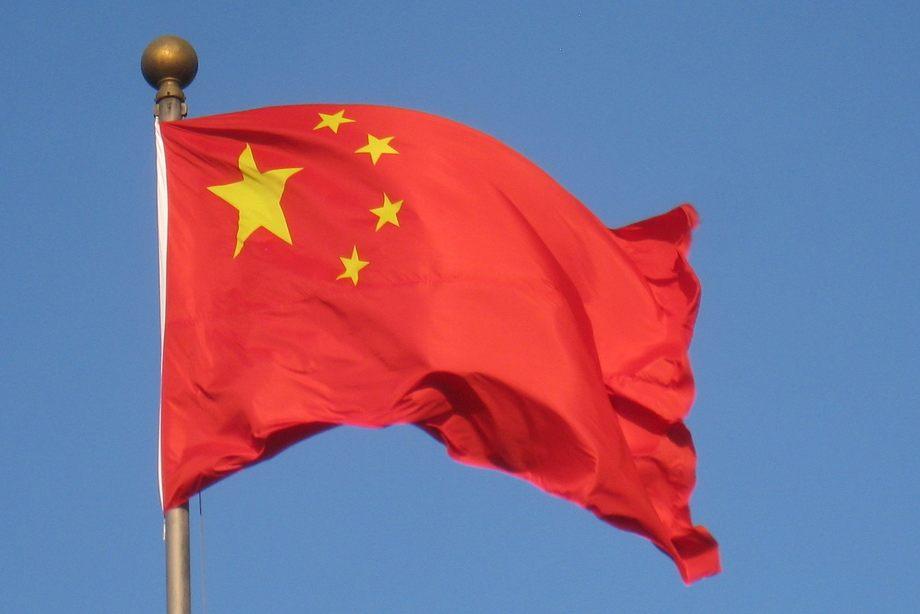 Bandera de china. Foto: Pixabay.
