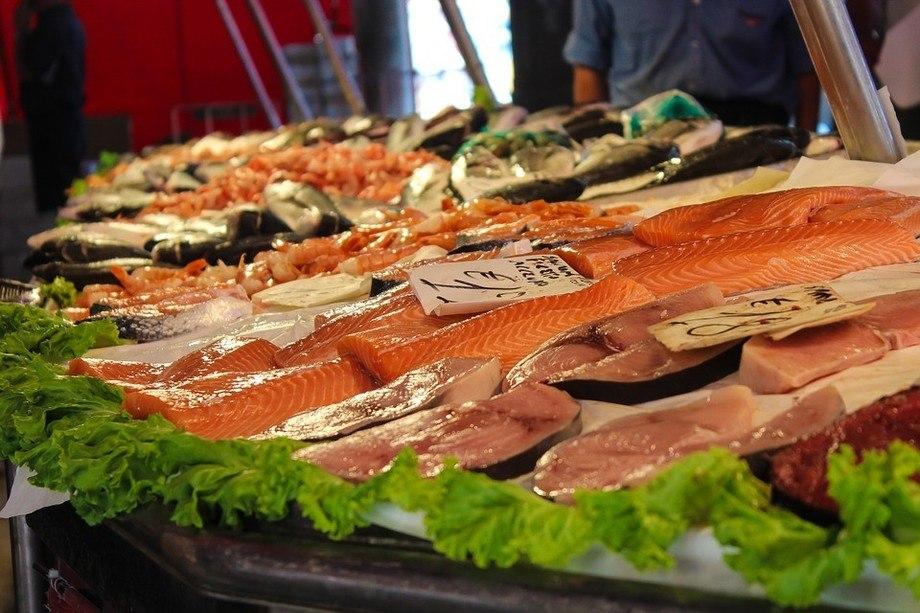 Imagen referencial de salmón. Foto: Pixabay.