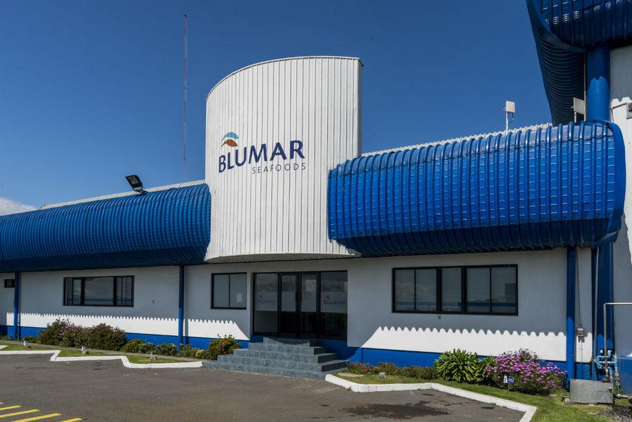 Fachada de oficinas de Blumar. Foto: Blumar.