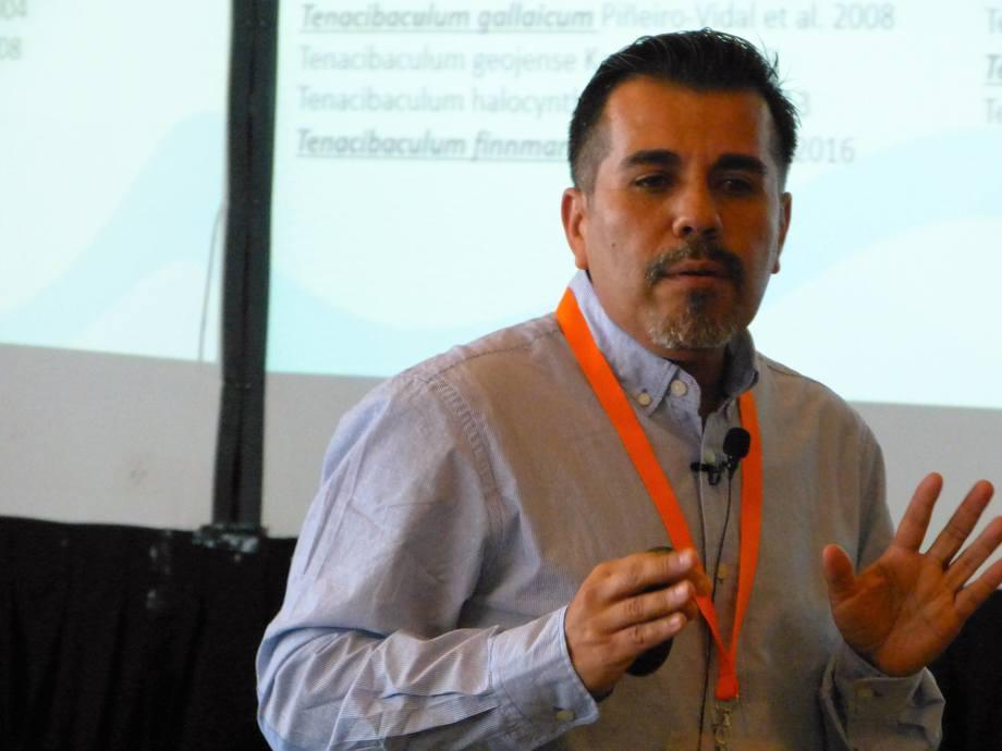 Dr. Ruben Avendaño, investigador de la Universidad Andrés Bello y del Centro Incar. Foto: Archivo Salmonexpert.