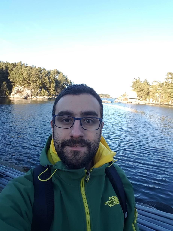 Gustavo Núñez es ingeniero en Biotecnología Marina y Acuicultura. Foto: Gustavo Núñez-