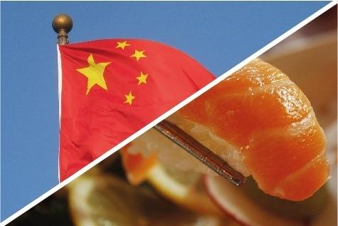 Imagen referencial de exportaciones de salmón a China. Foto: Archivo Salmonexpert.