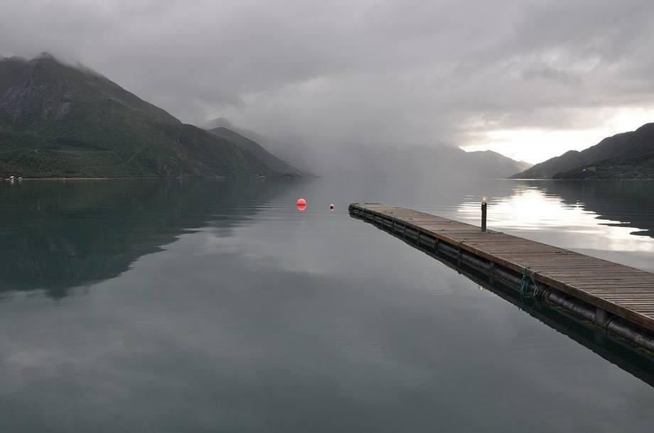 Imagen referencial de espacio marino en Noruega. Foto: Archivo Salmonexpert.