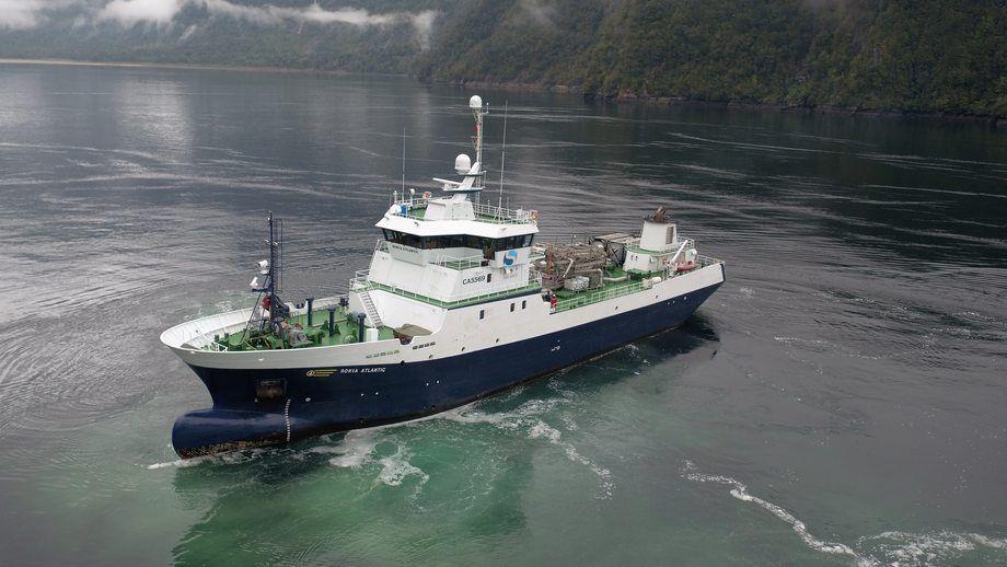 Wellboat de Solvtrans. Foto: Archivo Salmonexpert.