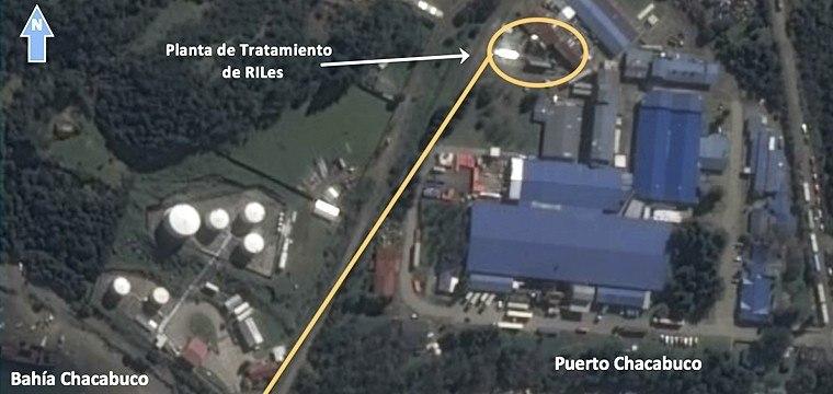 Foto referencial de planta de proceso de Friosur en Puerto Chacabuco. Foto: SMA.