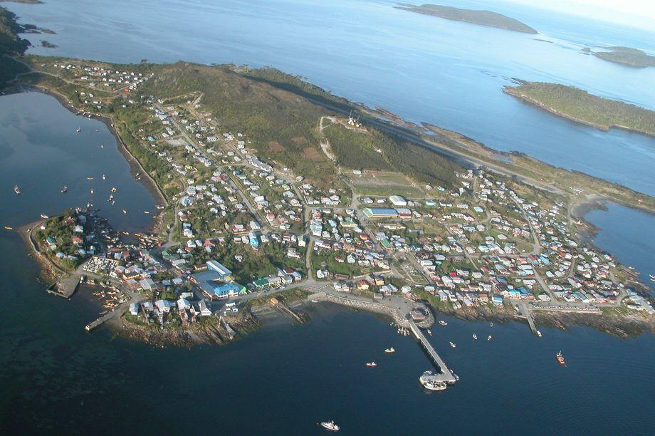 Imagen referencial de la Isla de Melinka. Foto: Archivo Salmonexpert.