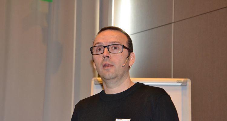 Nofima's Audun Iversen delivered the results of the Kontali report. Image: Magnus Petersen