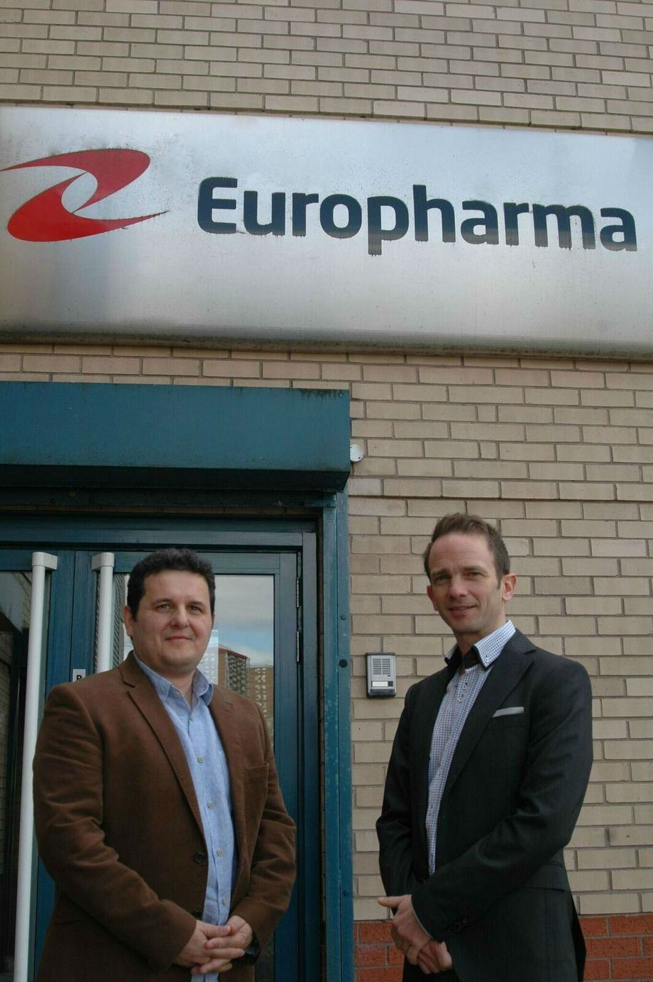 Nikos Steiropoulos MD EuroPharma and Dafyyd Morris MSD