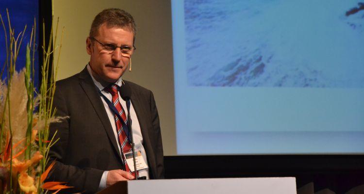 Andreas Kvarme, CEO of Grieg Seafood, spoke at NASF last week. Image by Pål Mugaas Jensen