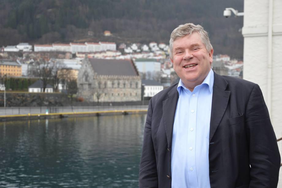 Einar Wathne, President Cargill Aqua Nutrition. Foto: Therese Soltveit.