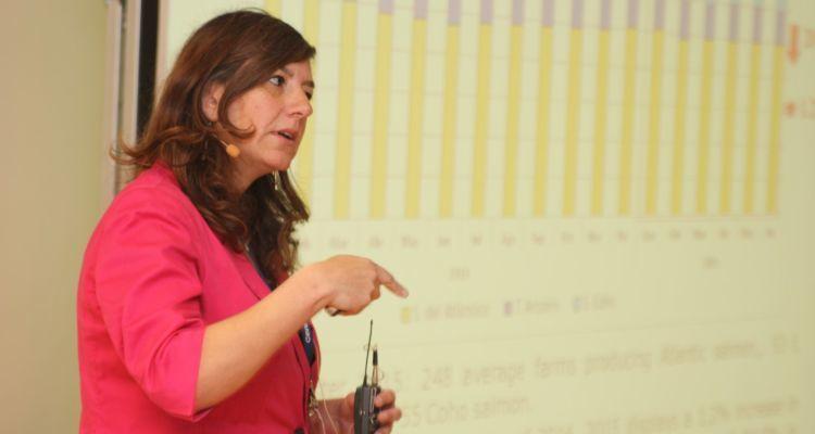 Alicia Gallardo, deputy director of aquaculture in Sernapesca: