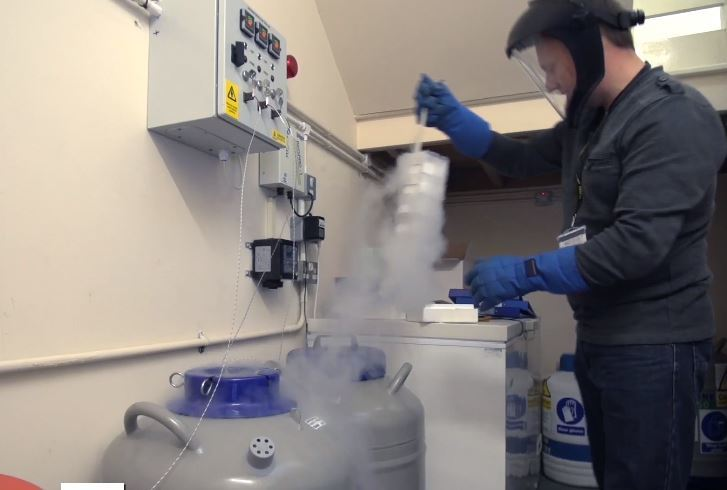 Benchmark's £17m factory has produced its first commercial-scale batch of antigen. Photo: Benchmark video