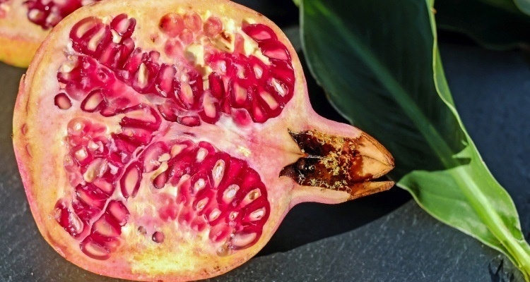 Pomegranate peel extract was mixed with chitosan to maintain the properties of frozen fillets. Photo: Pixabay