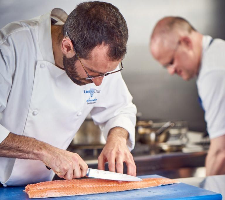 Patrick Evans, Loch Duart's new Scottish food ambassador, has worked as a chef throughout the UK and Europe.