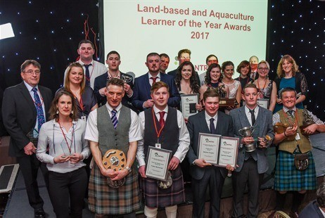 Lantra awards are open to learners in various sectors including aquaculture and fisheries management.