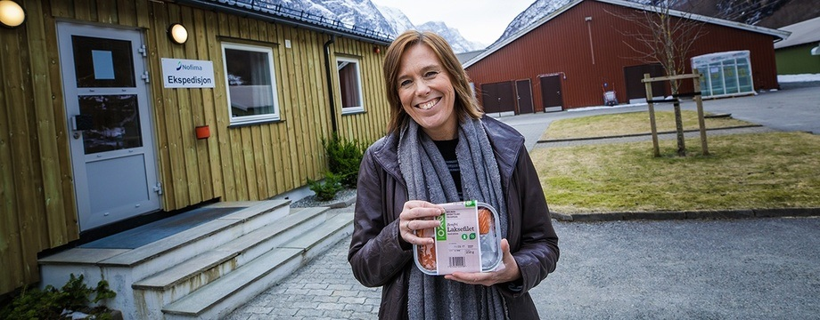 Åsa Espmark coordinated the EU project OrAqua, which looked at regulations for organic aquaculture in Europe.