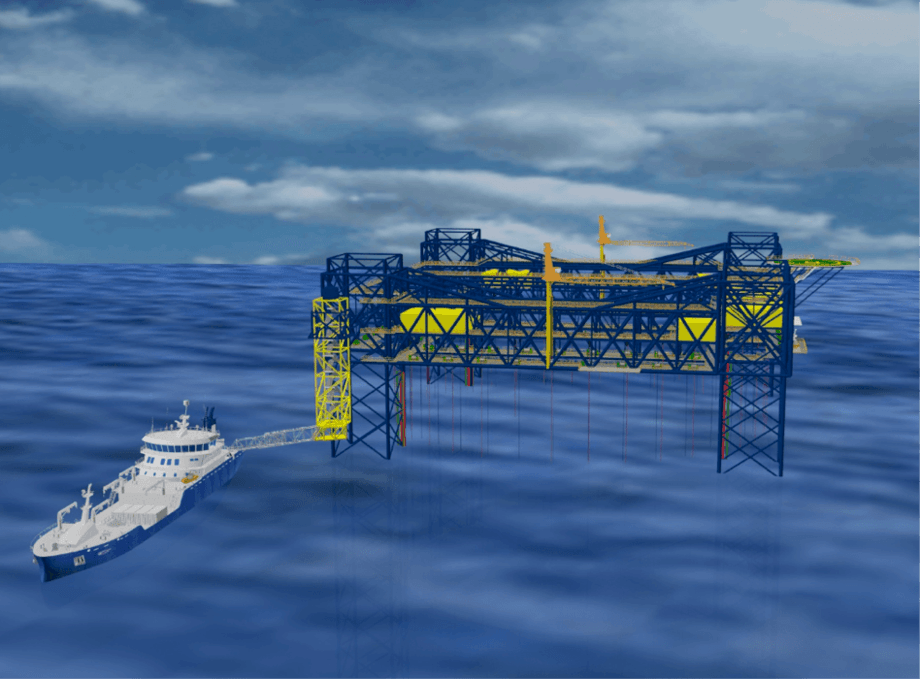 The developers of the North Sea Fish Farm concept want to make it a reality. Picture: Global Maritime