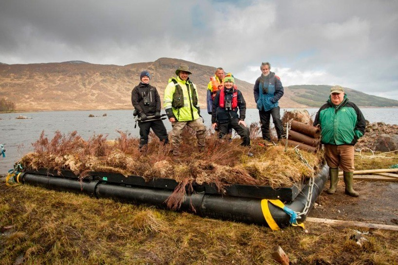 The project consortium is made up of the FCS, Scottish Natural Heritage (SNH), Wildfowl and Wetlands Trust, Scottish and Southern Energy, Blue Energy, the Ness & Beauly Fisheries Trust, the RSPB and Marine Harvest. Picture: Jim Manthorpe