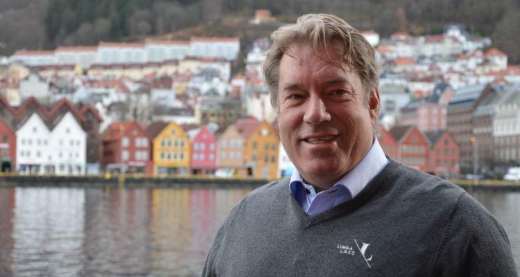 Lingalaks spokesman Kjetil Hestad. Photo: Therese Soltveit