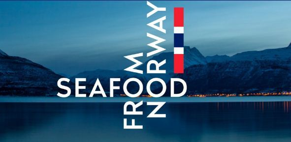 The Seafood from Norway mark is designed to trigger associations of Norwegian mountains reflected in the ocean.