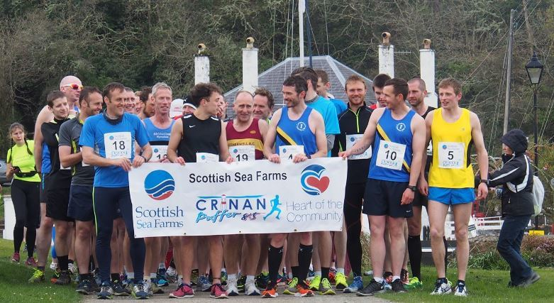 Scottish Sea Farms has sponsored the Crinan Puffer 8.5 race for six years.