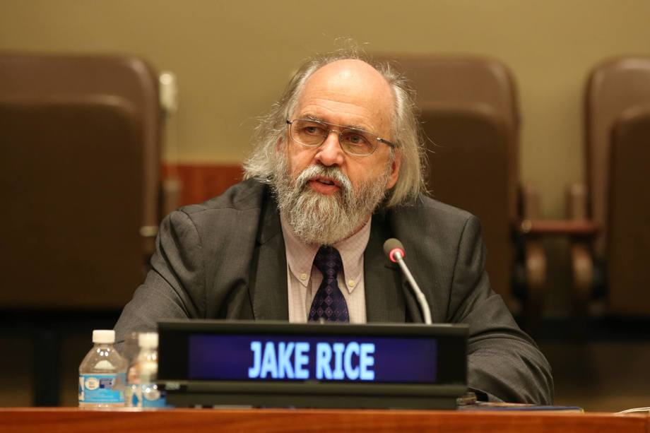 Dr Jake Rice, National Senior Advisor – Ecosystem Sciences, for Canada's Department of Fisheries and Oceans.