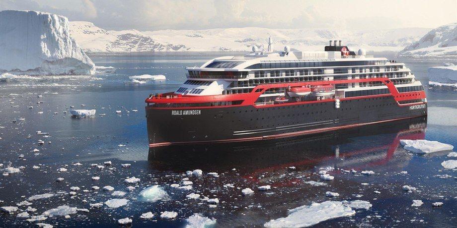 Hurtigrutens nye skip MS