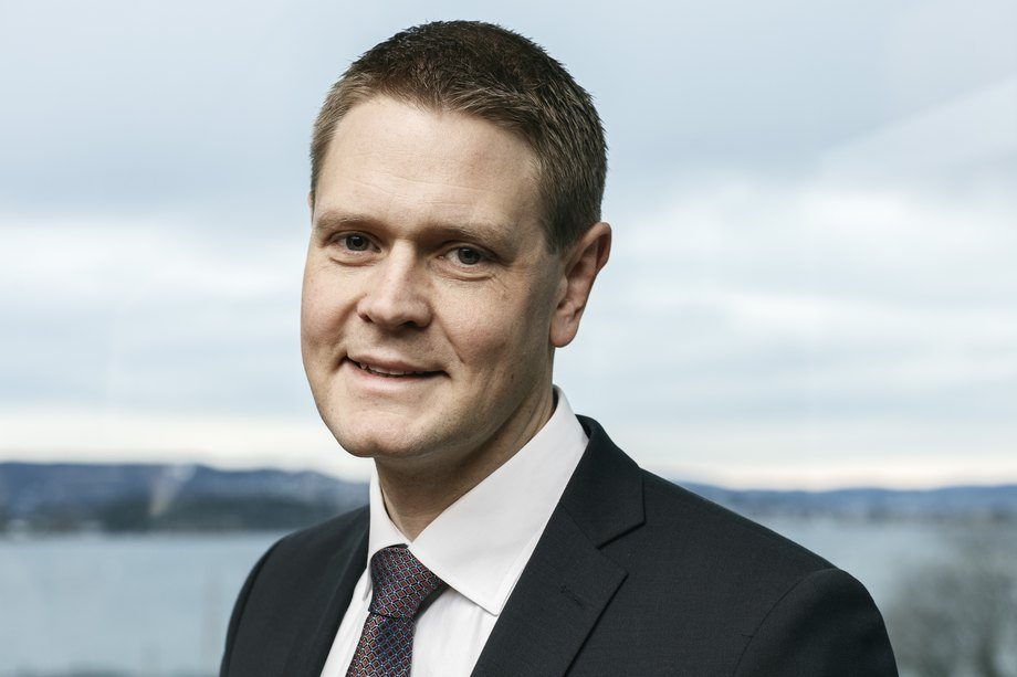 Administrerende direktør i Norges Rederiforbund Harald Solberg. Arkivfoto