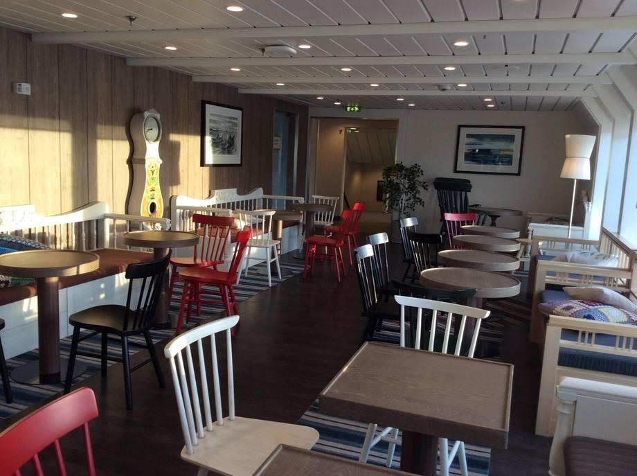 Interiør på Hurtigruten får kritikk