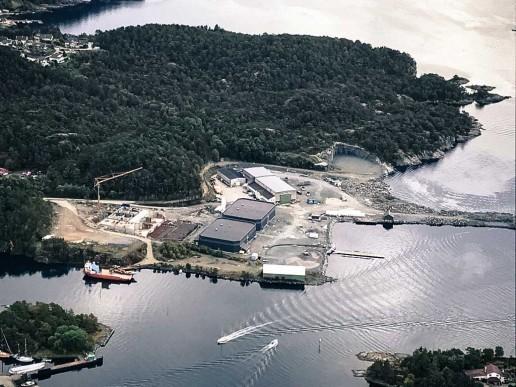 Erko sitt RAS anlegg i Sagvåg er levert av Nofitech. Foto: Nofitech